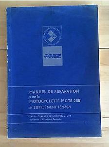 Manuel d'atelier TS 250 et 250/1 Manuel10