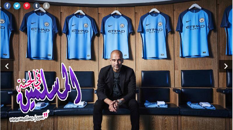 تيشيرت نادى مانشيستر سيتى الانجليزى 2017 'قميص Manchester City 2017 'تى شيرت t shirt 2017 Manchester City Muslim29