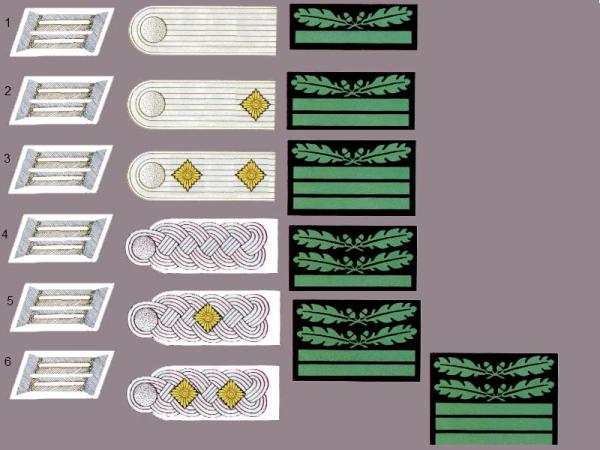 Les grades de l'armée Allemande 28959310