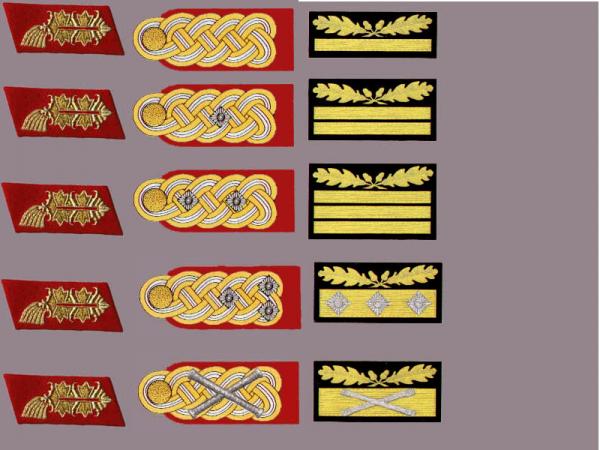 Les grades de l'armée Allemande 28959311