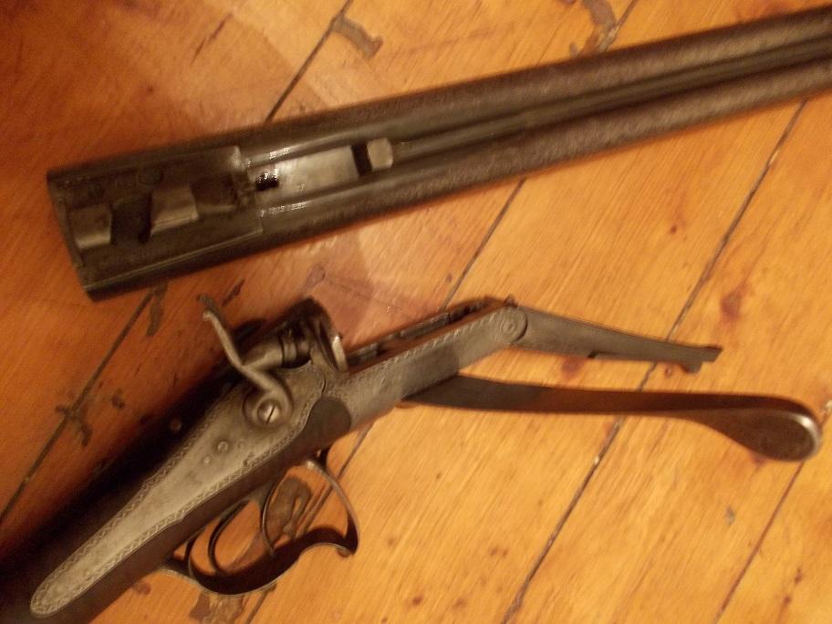 Fusil systéme Lefaucheux Calibre 16 Chasse11