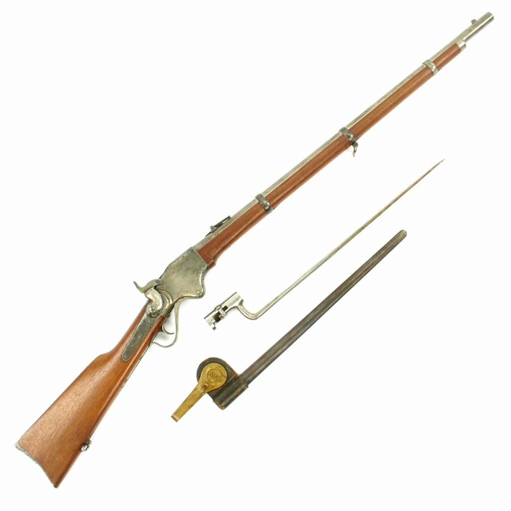 fusil spencer new model calibre 50 On113210