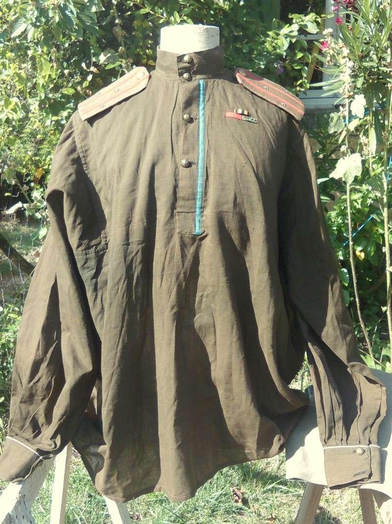 uniforme toile khaki à identifier P31110