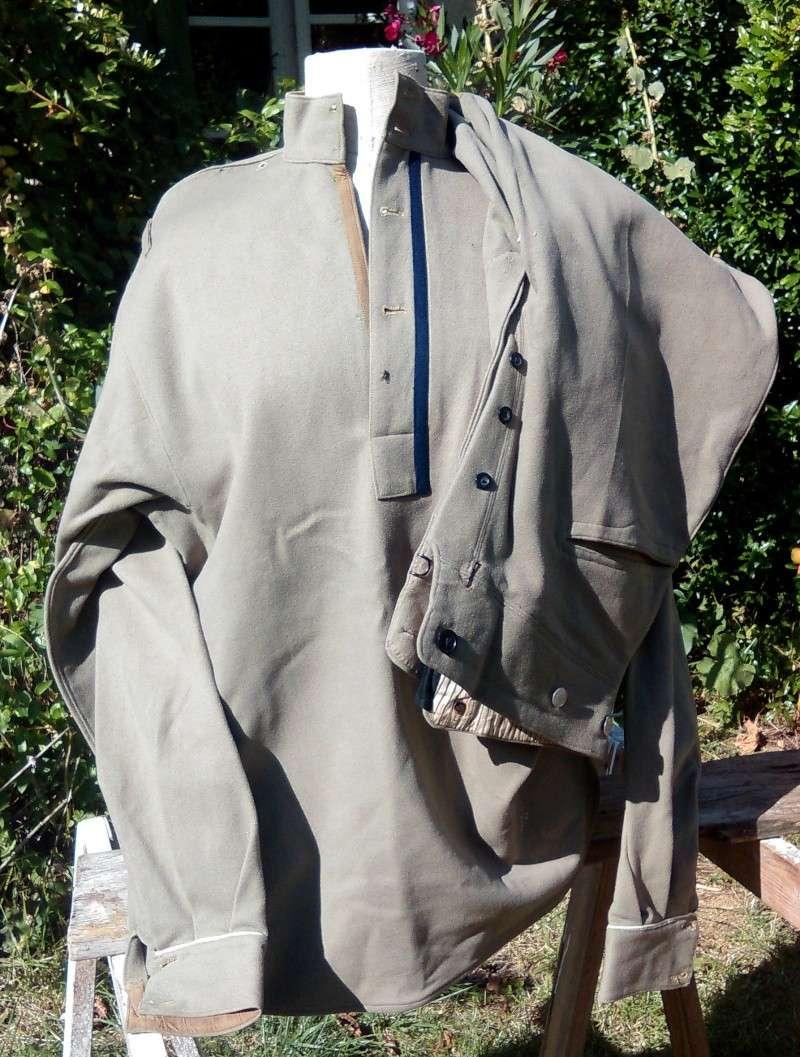 uniforme toile khaki à identifier P61010