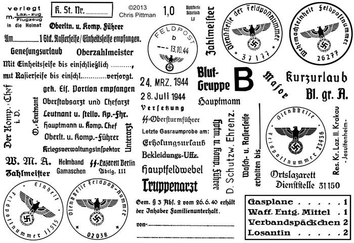 Site Pour des copies de Stampel Caoutchouc Stamps10