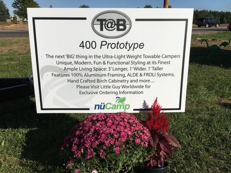 T@B 400 Unveiled (révélée) at Elkhart RV Open House Tmp_2912