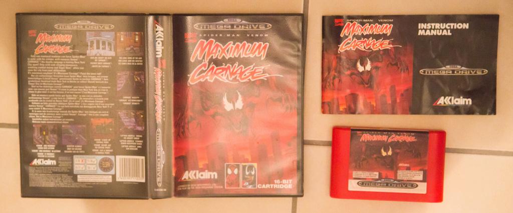 [VENDUS] Batman & Robin MD (loose) + Maximum Carnage MD (complet) Vente310