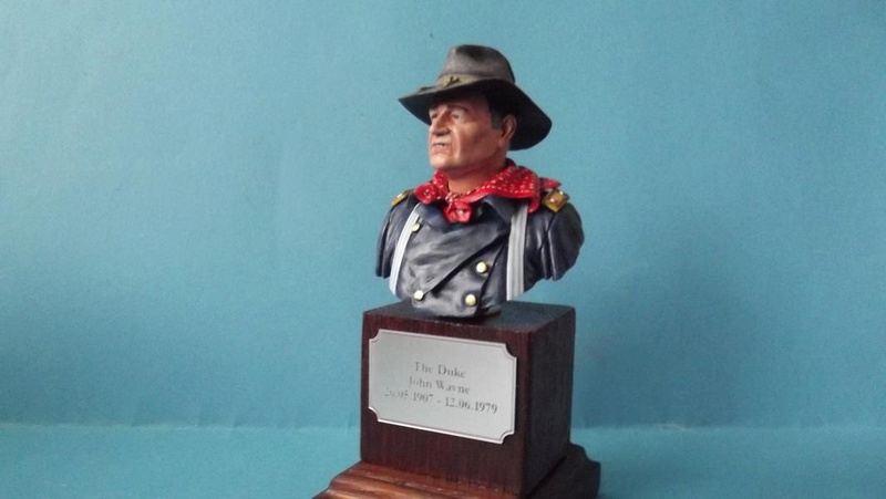 Büste The Duke - John Wayne K800_d31