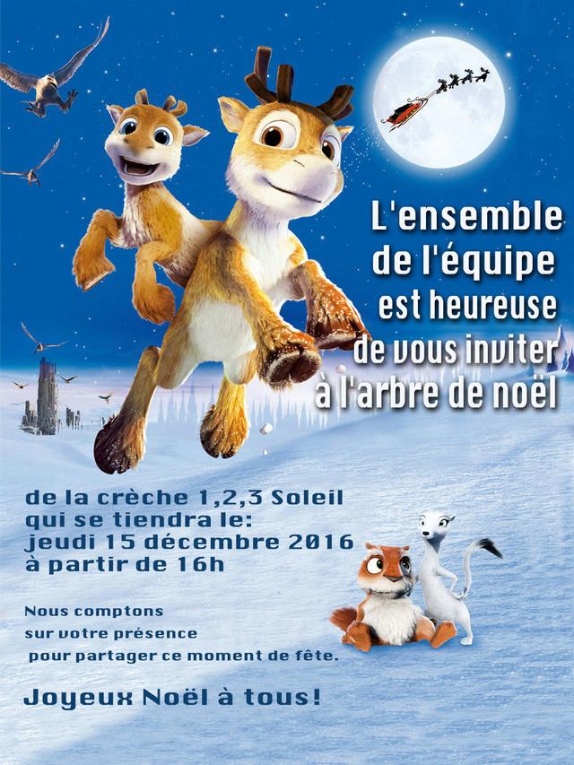 Affiche crèche Noël Pmau11