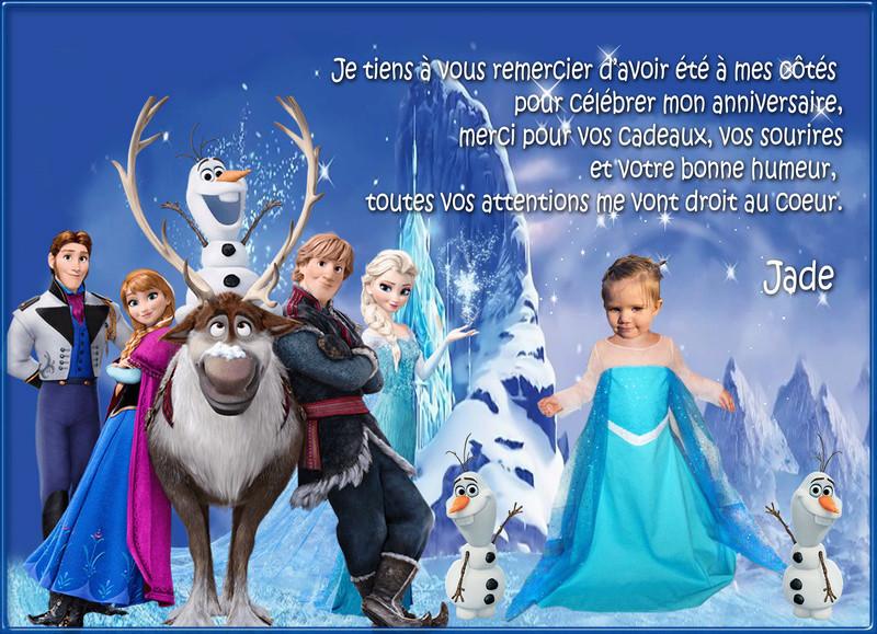 Anniversaire de la princesse Jade d ' harendelle  Remerc10