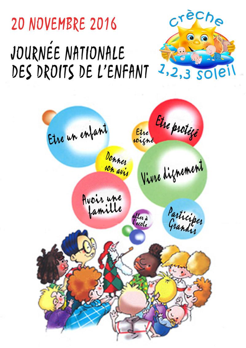 Affiche crèche les droits de l'enfant Sans_t34