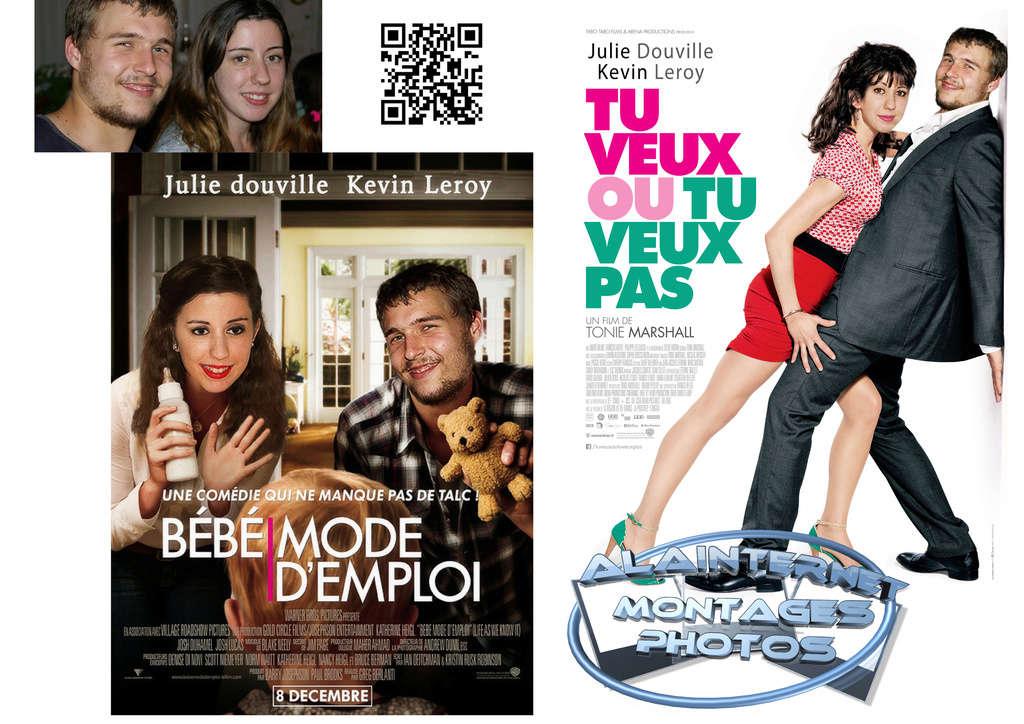 affiche de film personnalisée  sur theme mariage Sans_t54