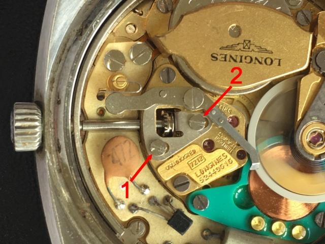 Démontage tige remontoir sur Longines Electronic cal. 7212 Img_1615