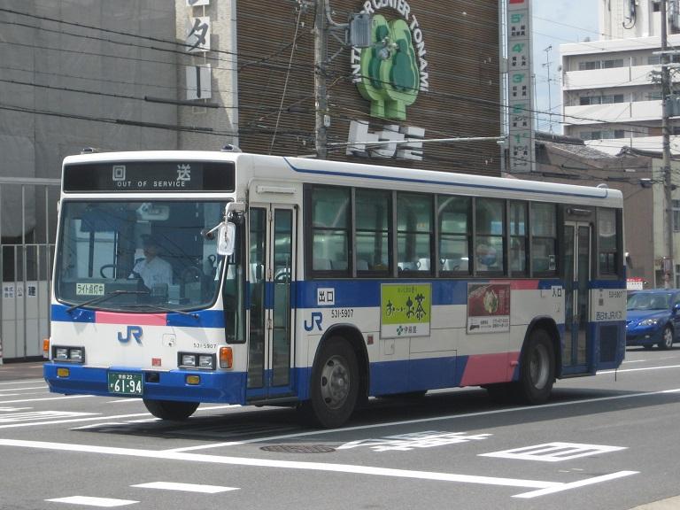 [2014年の夏][京都市] 西日本JRバス Img_5912