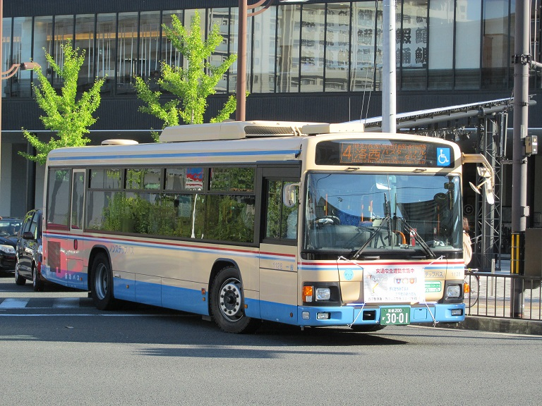 [2016年の夏][洛西] 阪急バス Photom71