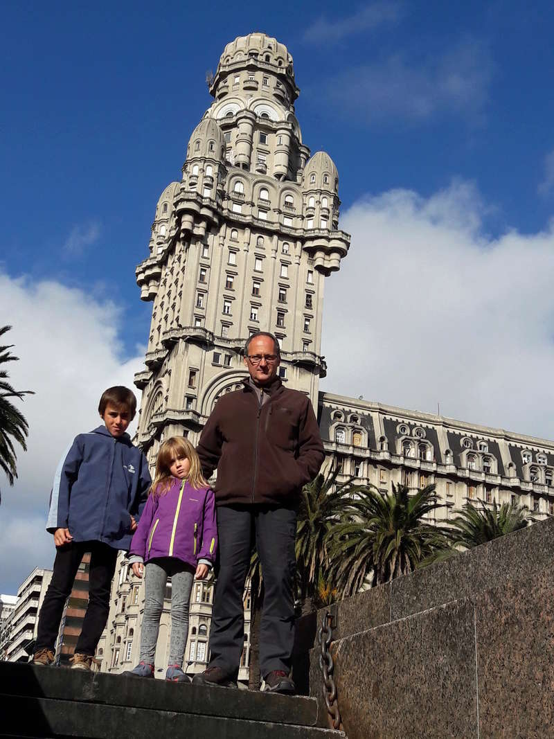 Le 26 Août 2016. Montevideo Uruguay. 29ème frontière. 210