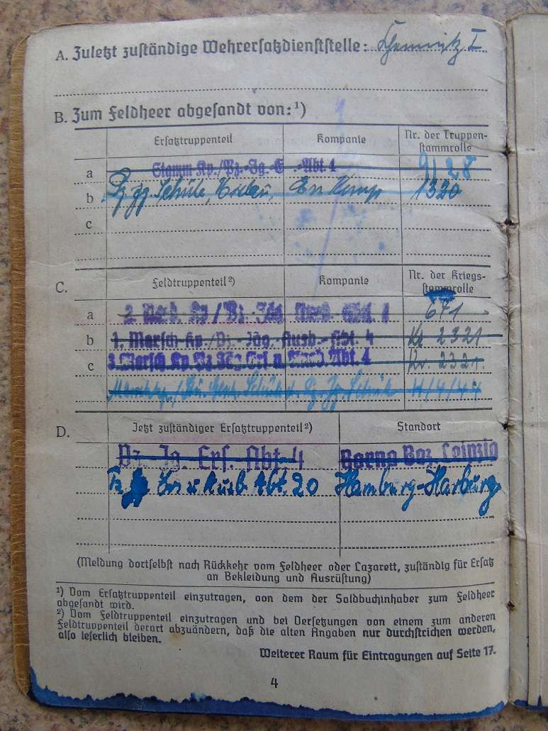 Traduction d'un Soldbuch Panzer allemand WW2 Dsc01136