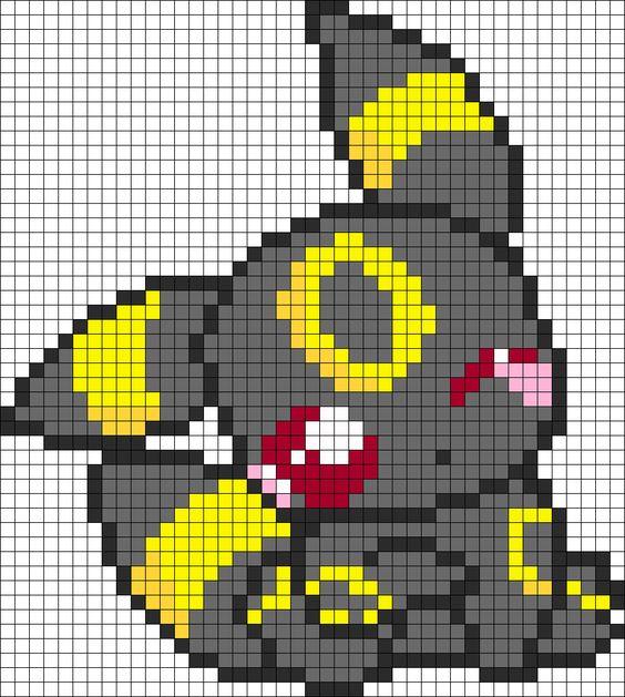 Pixel Art Pokemon Ultra Soleil