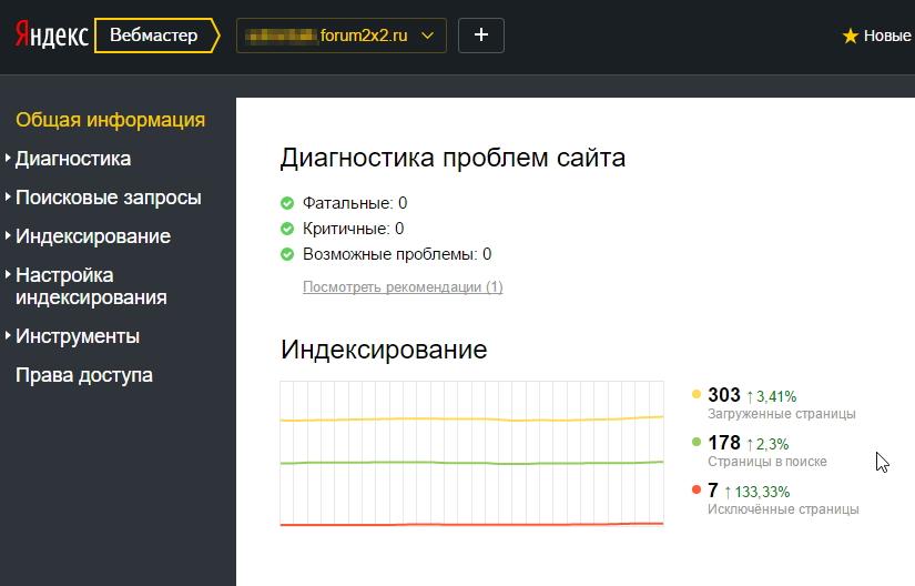 Информация об индексировании вашего форума с помощью Yandex Webmaster Image_20