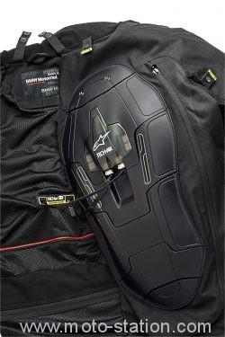 Veste BMW Street Air par Alpinestars : L'airbag en série Bmw-al11