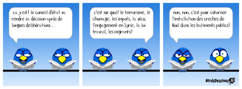 L'actu d'octobre vue par les Birds Boudu113