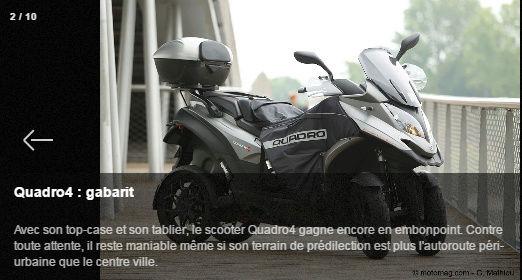 Quadro4 : aussi déroutant qu'innovant Captud10