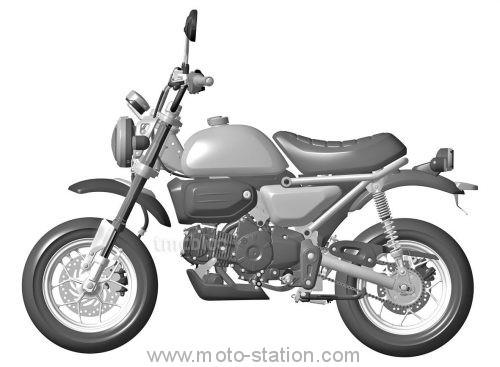 Honda va refaire le singe (monkey) au prochain EICMA ? - Et pas que ! New-ho10
