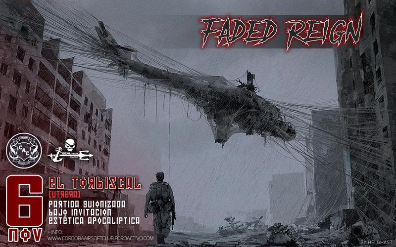 INTERCLUB | FADED REIGN | El Torbiscal - Utrera | 6 de Noviembre Cartel10