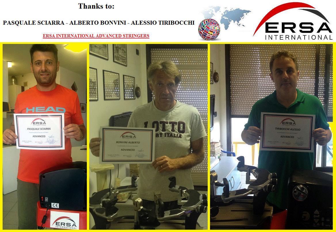 ERSA Italia - Corsi di formazione per incordatori 110