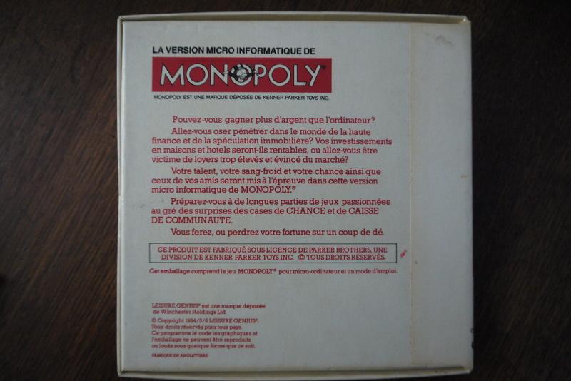 [ESTIM] Cassette Thomson Monopoly P1050918