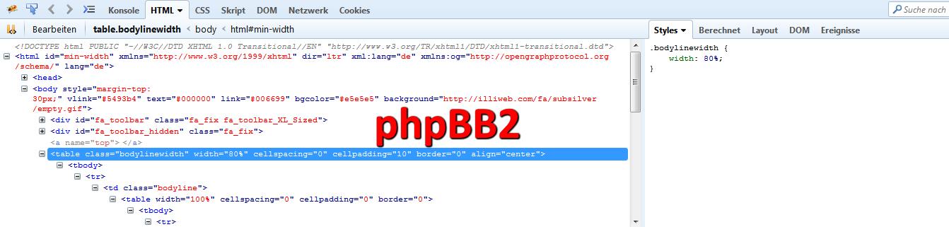 Version eines anderen Forums herausfinden 03-bb210