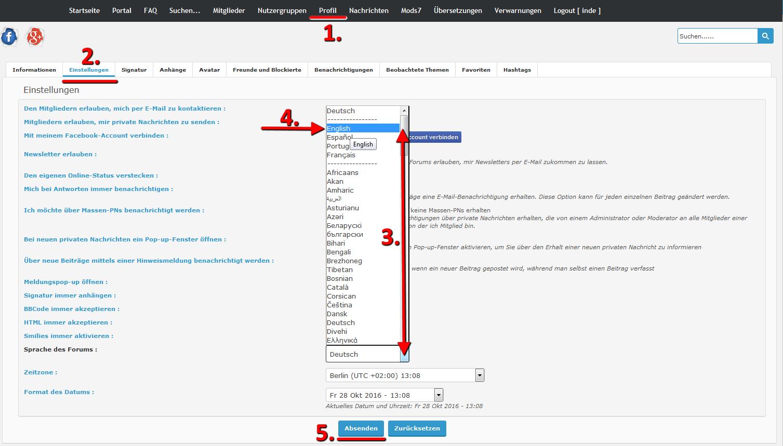 Editoren, Smilies und Chat werden nicht angezeigt Tutori12