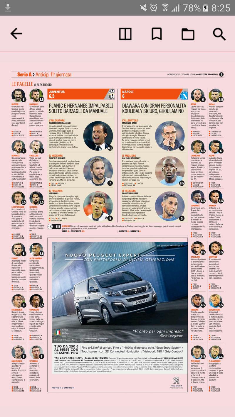 Juventus - Napoli, 2016.10.29. 20:45 Digi1 Screen13
