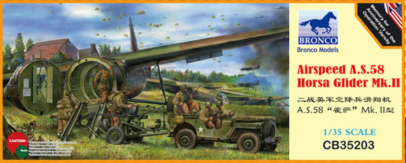 vend echange  planeur d assault HORSA  MK II - 1/35 Cb352012