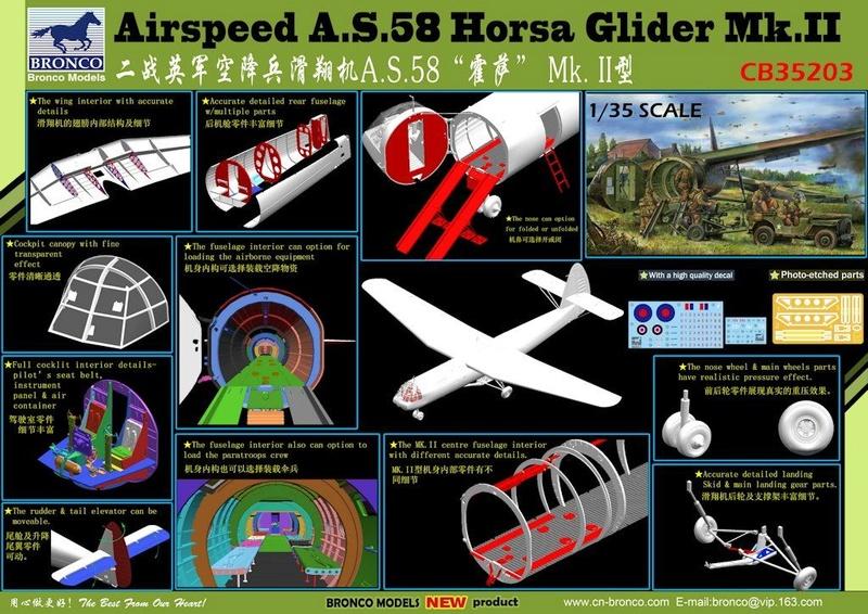 vend echange  planeur d assault HORSA  MK II - 1/35 Cb352013