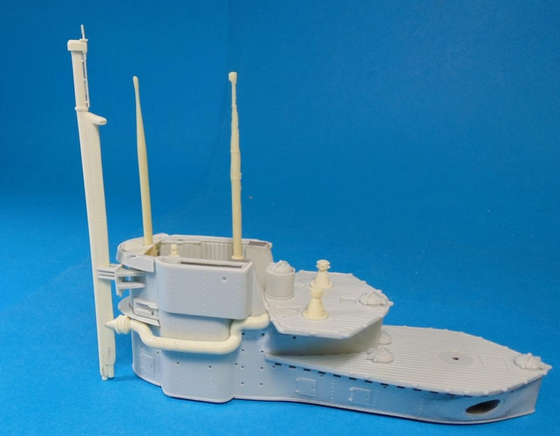 U boat type VII c 41 version atlantique 1/72 revell Dsc03256