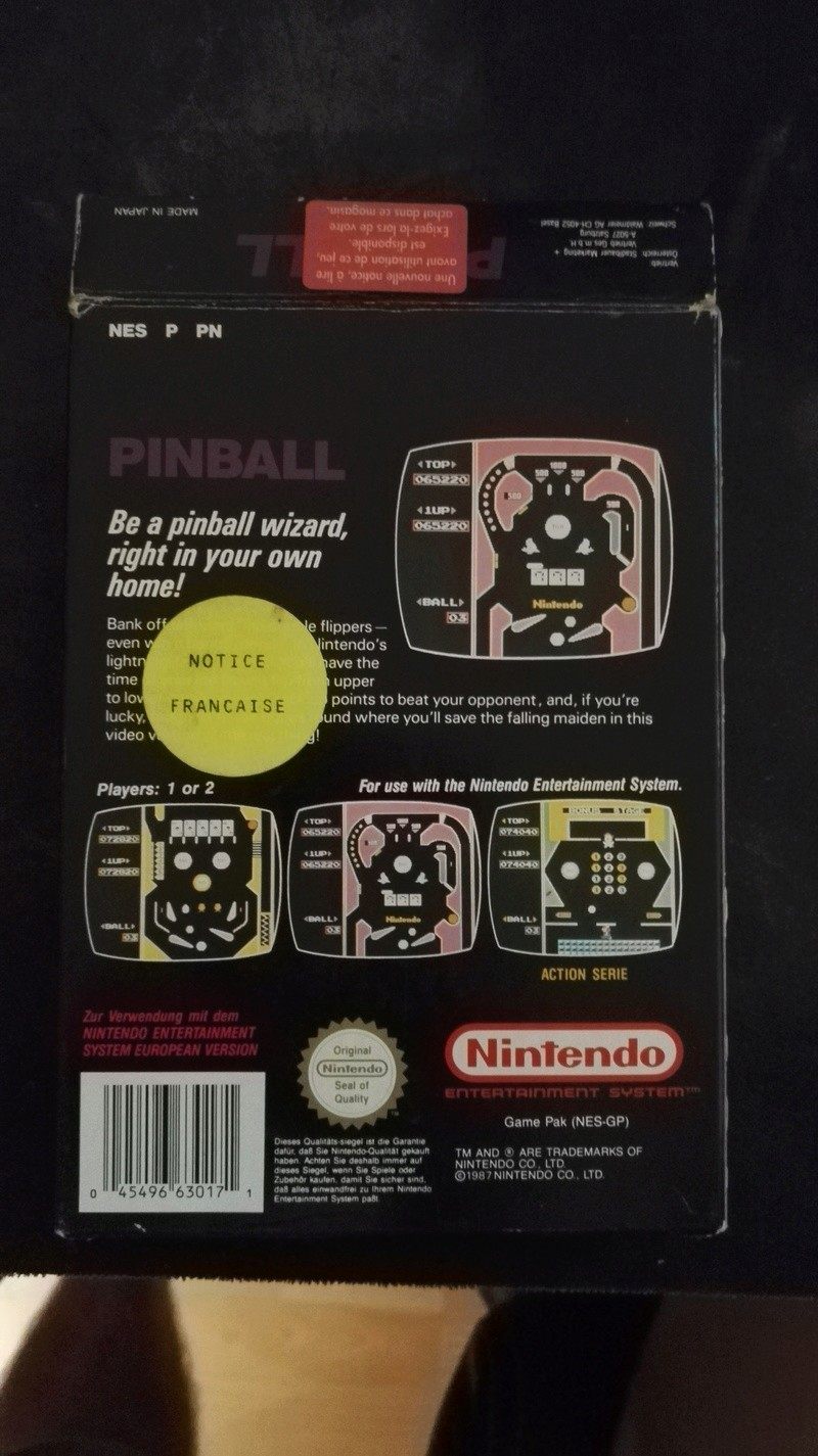 Estimation Pac Man NES  Img_2032