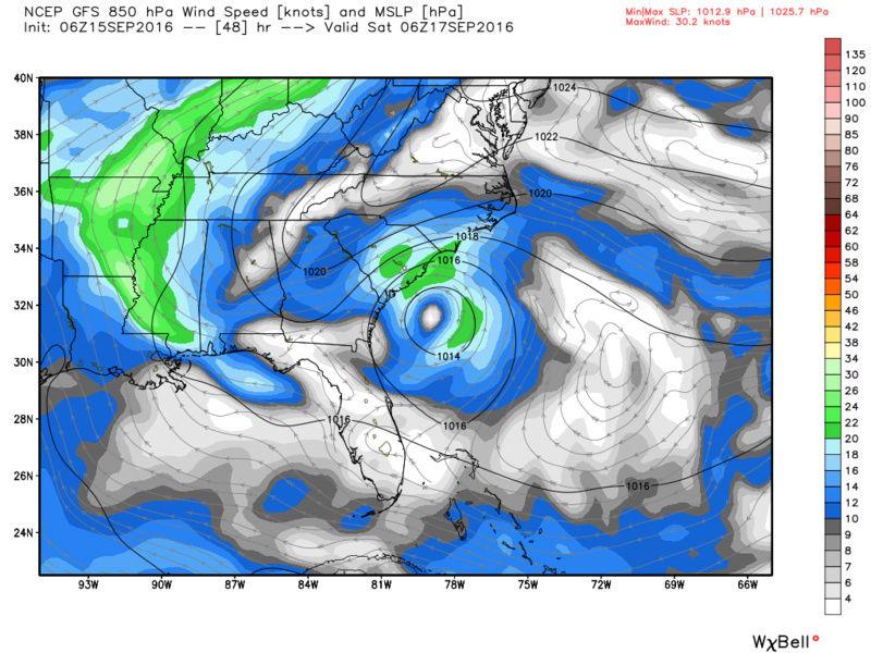 Tropical Storm Julia Discussion Gfs_0610