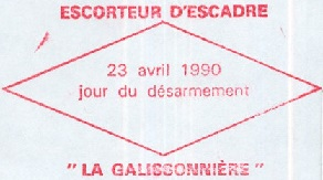 * LA GALISSONNIERE (1962/1990) * 450_0010
