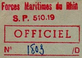 + FORCES MARITIMES DU RHIN + 5607_c10