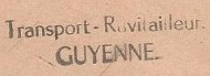 * GUYENNE (1965/1970) * 670810