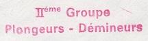 + 2ème GROUPE PLONGEURS-DEMINEURS  + 820111
