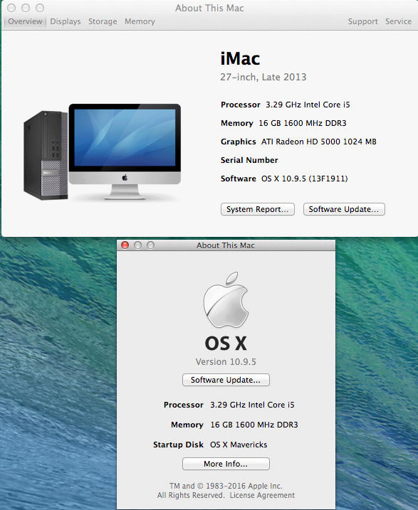 Dell Optiplex 790 macOS High Siera / (Fonctionne 10.6 A 10.13) Captur19
