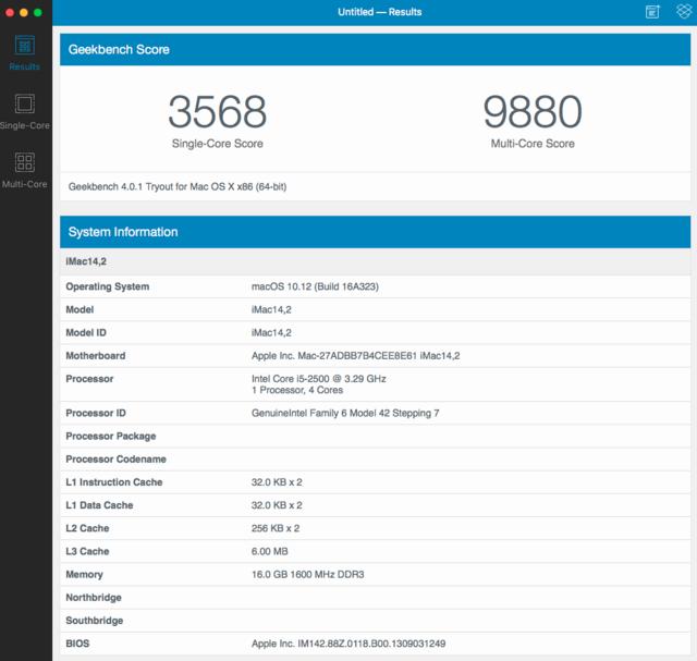 Dell Optiplex 790 macOS High Siera / (Fonctionne 10.6 A 10.13) Captur67