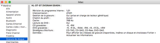 Dell Optiplex 790 macOS High Siera / (Fonctionne 10.6 A 10.13) Captur96