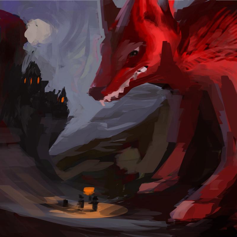 Medeuka -Loups graouuh - imchallenge3 Pomed10
