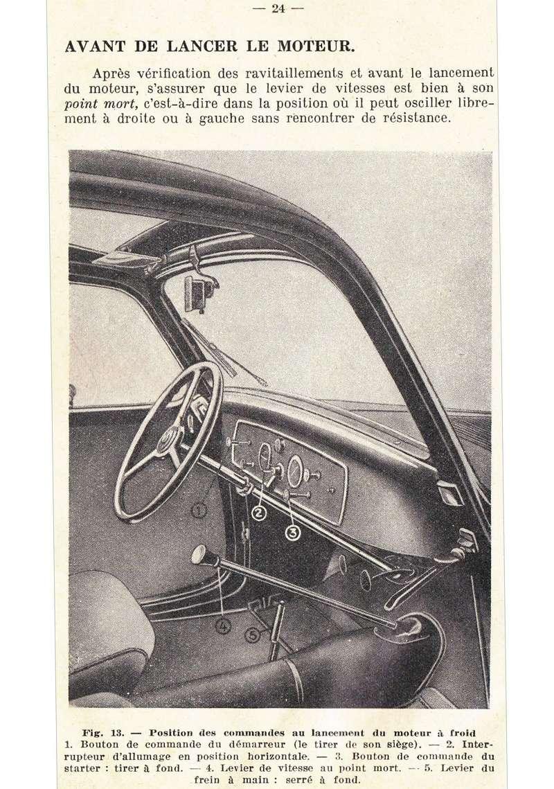 Restauration d'une Simca 5 Topolino Notice13