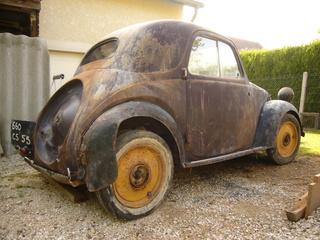Restauration d'une Simca 5 Topolino P1080510