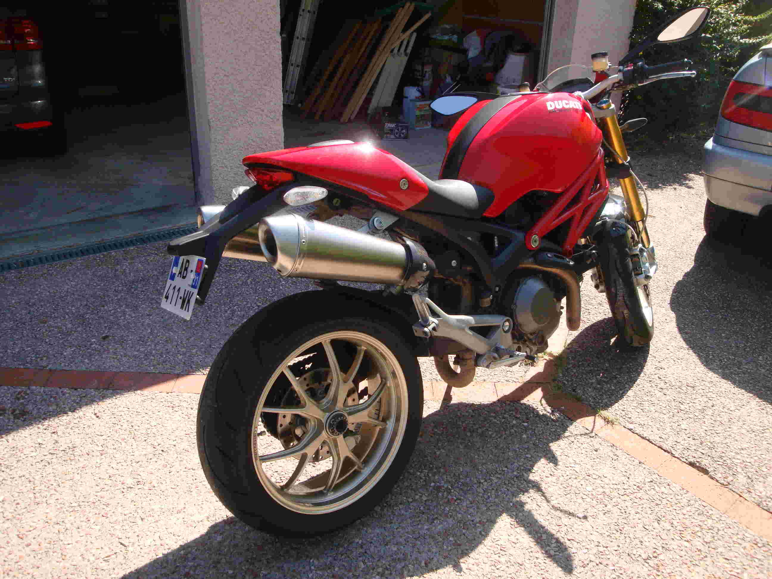 Monster 1100 S Termignoni Titane Dsc06912