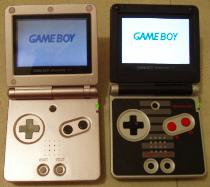 La game boy Gba210